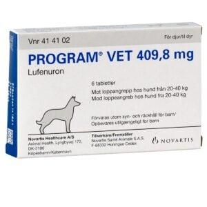Program Vet loppetablet, til hund 20-40 kg