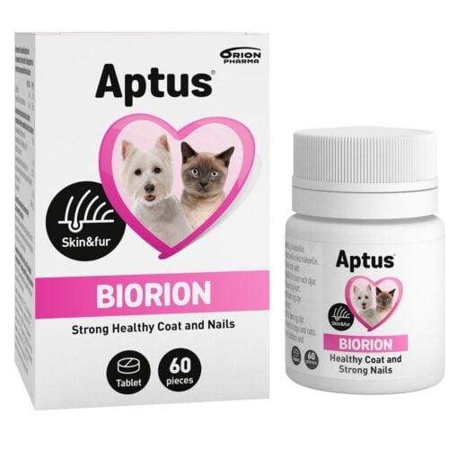 Aptus Biorion 60 stk tabl. til pels og klør