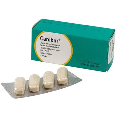 Canikur Pro tablet ved diarre 12 stk