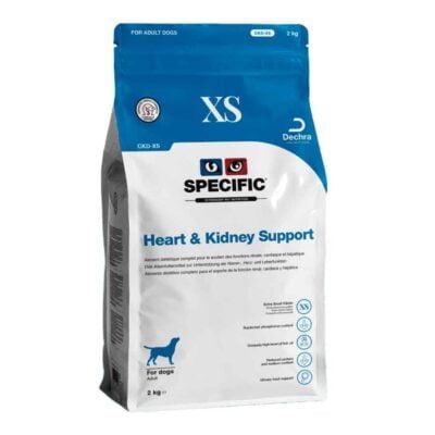 CKD-XS Hjerte, nyre og lever til voksne små racer - ekstra små foderpiller