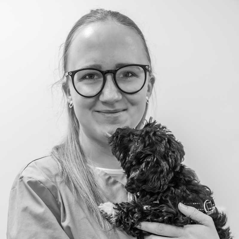 Klinikassistent Laura Frost