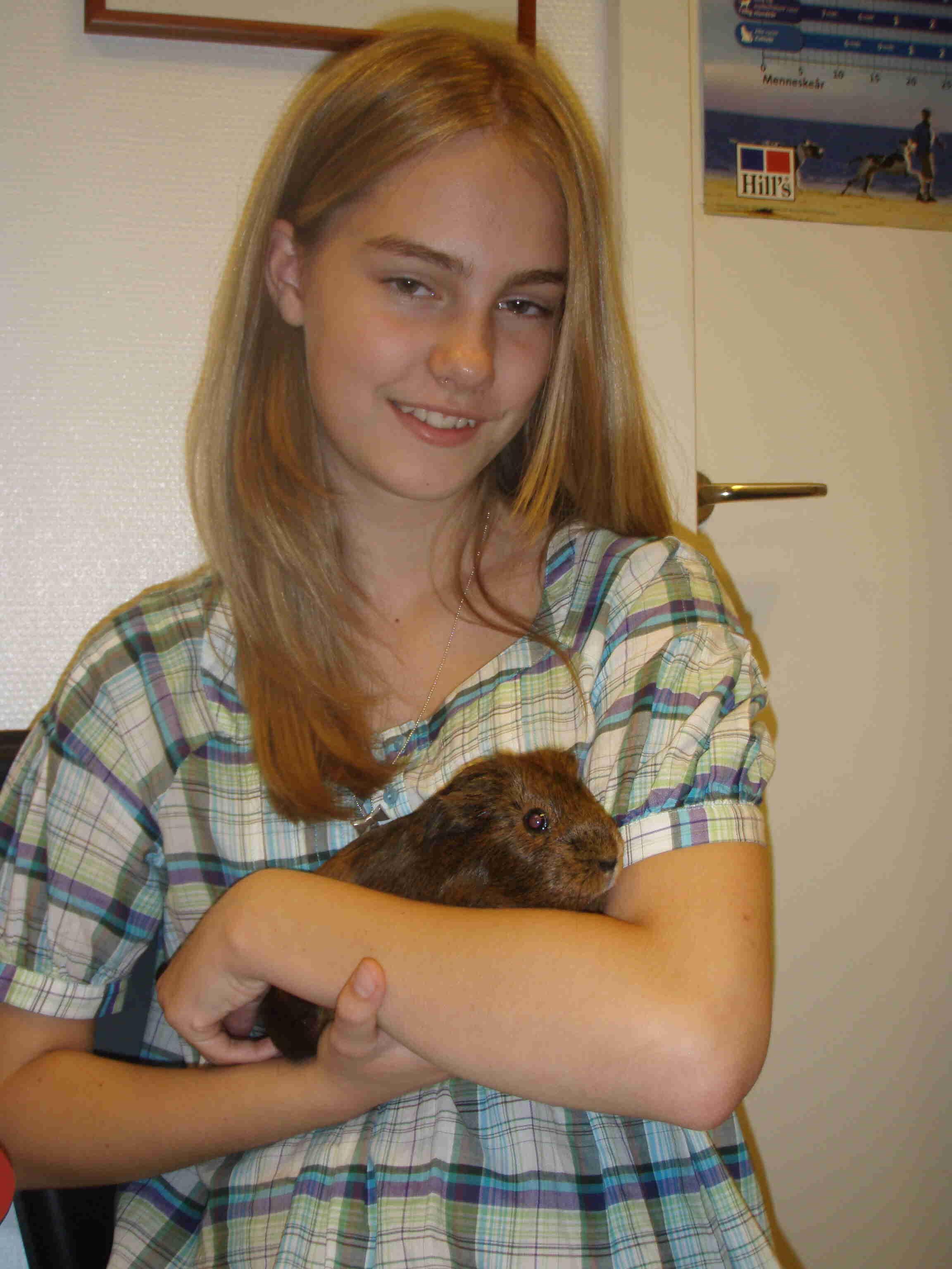 Emily og Pjuske november 2008