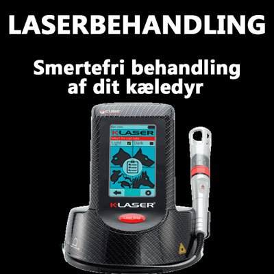 Laserbehandling af kæledyr